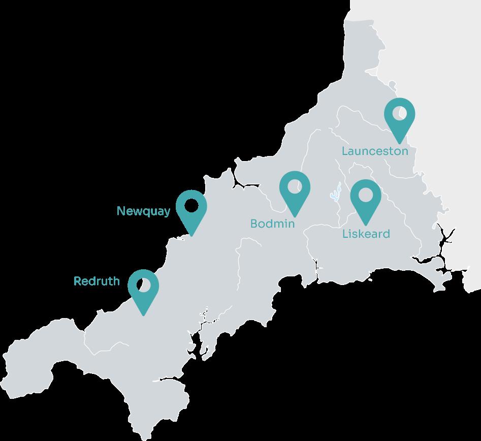 Treveth Homes Map