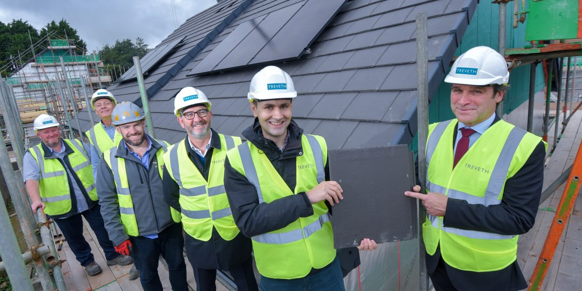 Maudlin Farm topping out